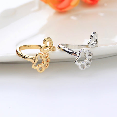 Adjustable Dog Paw Ring
