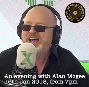 PAST EVENT - An Evening With Alan Mcgee - (Tues 16th January 2018)