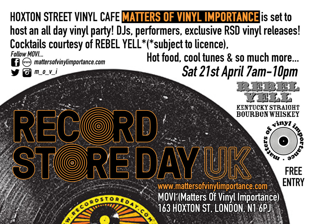 Recordstore Day 10 days away!!