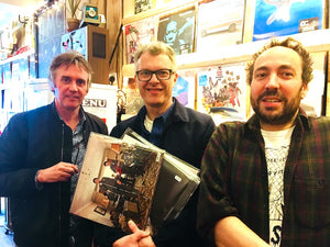 Music producer FLOOD pops into MOVI for some Vinyl!!!