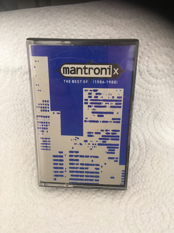 Mantronix - The Best Of Mantronix - Cassette