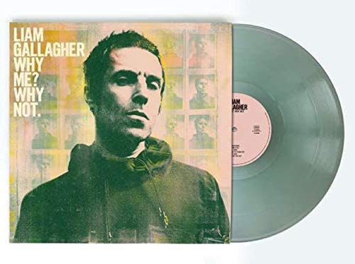 Liam Gallagher - Why Me? Why Not. LTD Green Vinyl Gatefold Sleeve