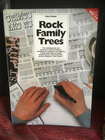 The Complete Rock Family Trees: the Development and History of Rock Performers - Pete Frame