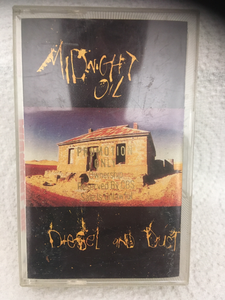 Midnight Oil - Diesel and Dust -promo cassette
