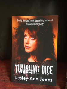 Tumbling Dice Paperback by Lesley Ann Jones **SIGNED BY AUTHOR**