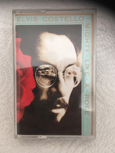 Elvis Costello- Mighty Like A Rose - cassette