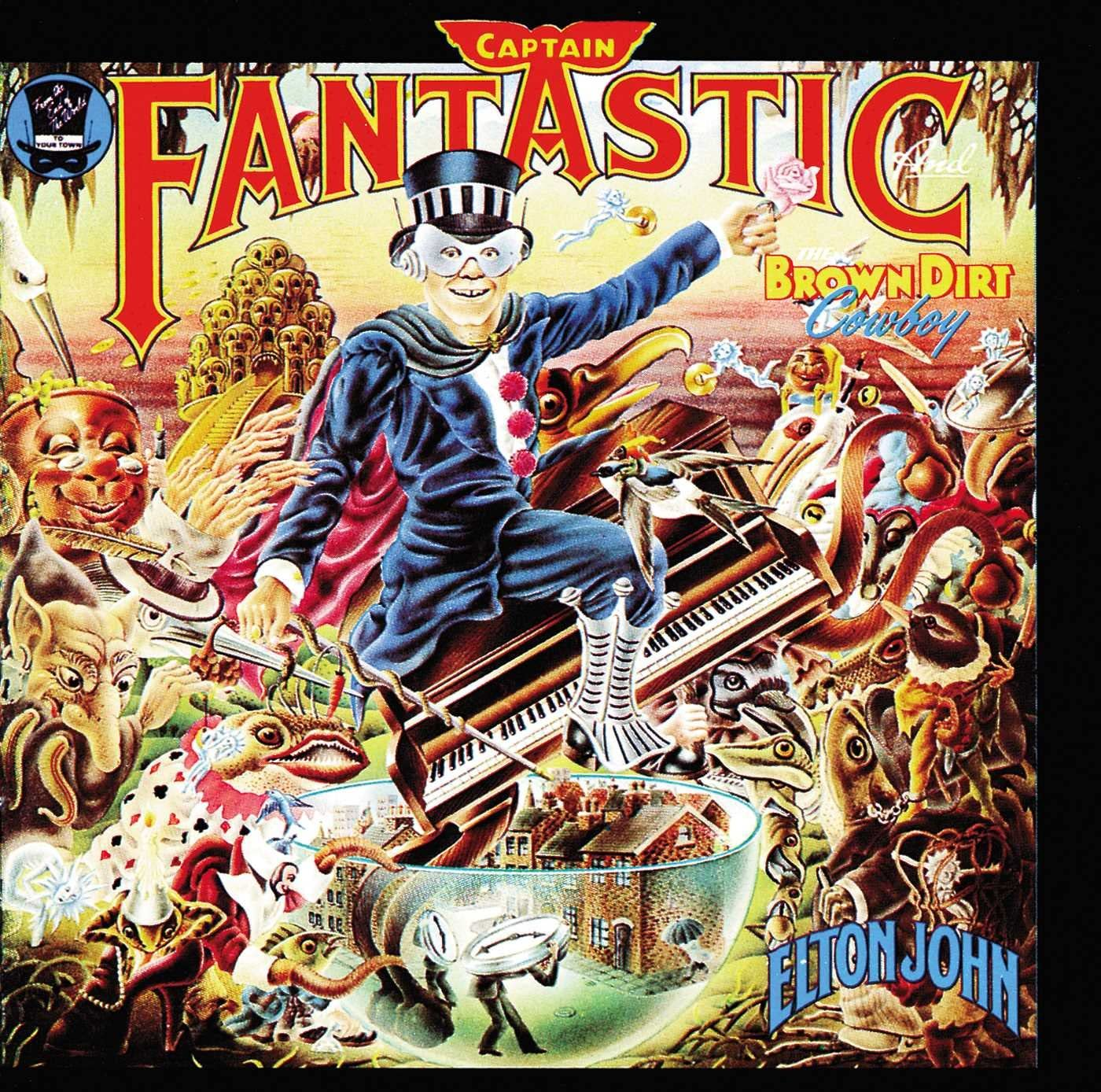 Elton John - Captain Fantastic And The Brown Dirt Cowboy - Deluxe Gatefold
