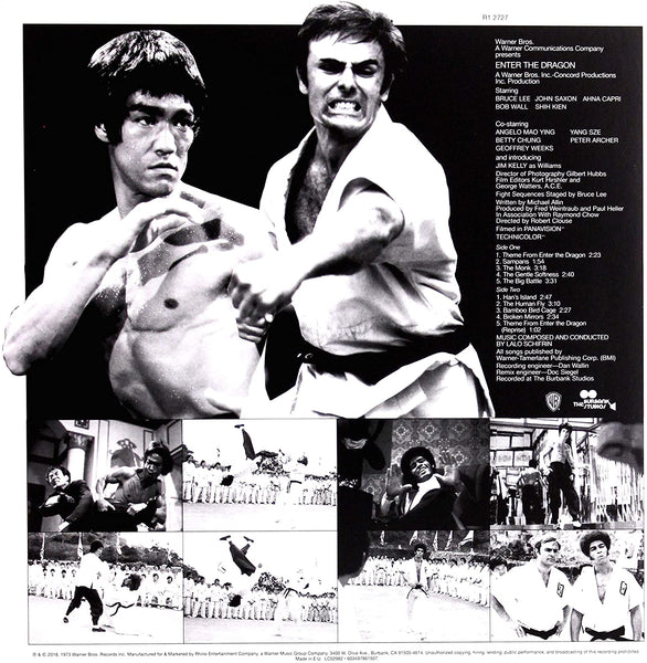 Enter The Dragon Soundtrack Limited Edition Picture Disc