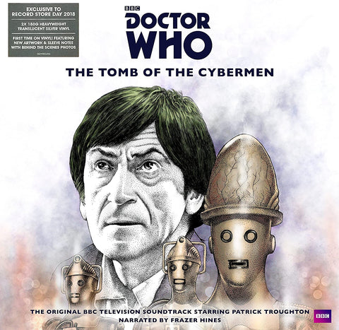 Doctor Who - The Tomb of the Cybermen RSD 2018 180gm double album silver vinyl