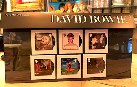 David Bowie First Day Covers (Stamp set 2) - Gifts