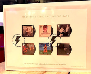David Bowie First Day Covers (Stamp set 1) - Gifts