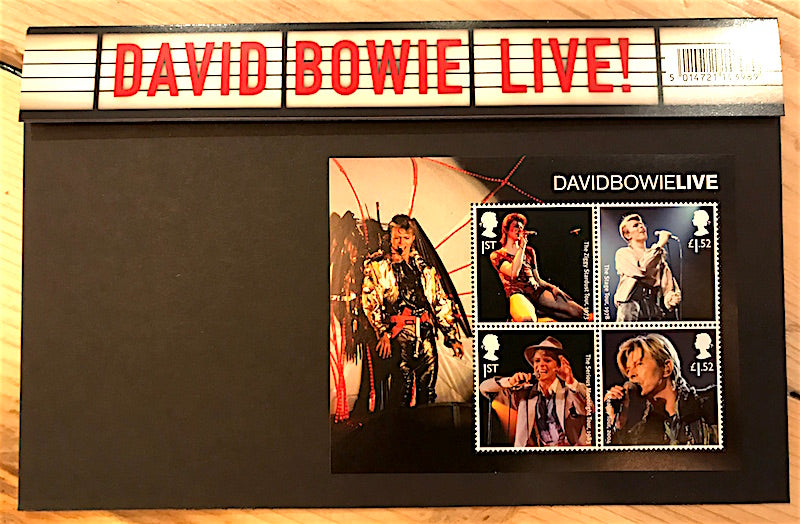 David Bowie First Day Covers (Stamp set 3) - Gifts