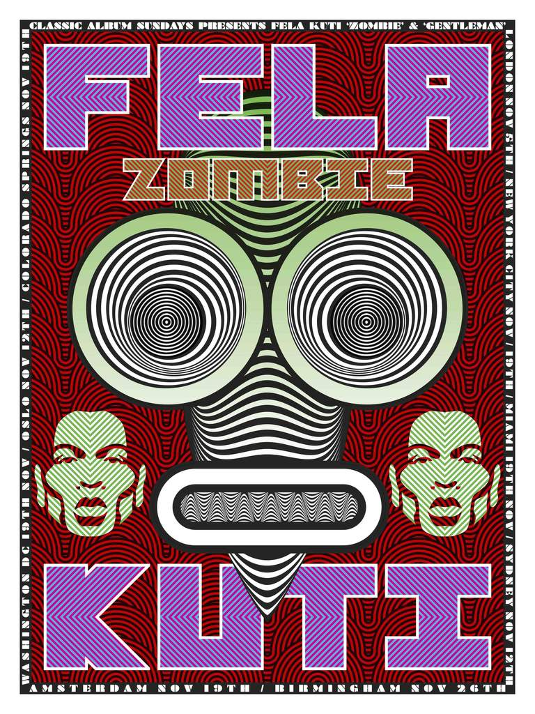 Limited Edition Fela Kuti Screen Print