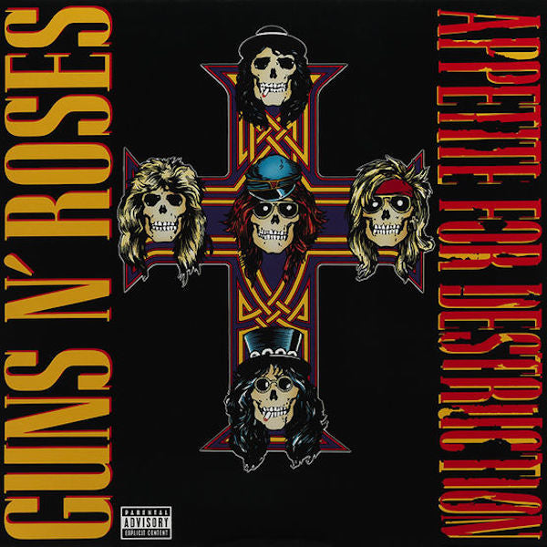 Guns & Roses - Appetite For Destruction - Vinyl LP
