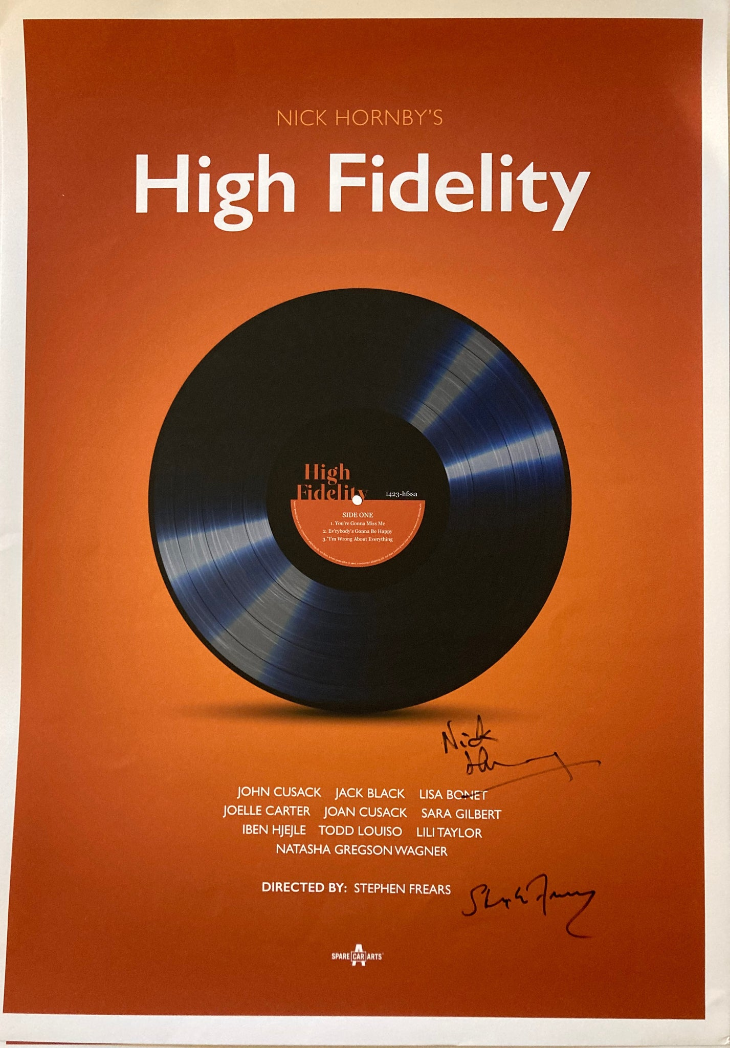 High Fidelity Film Print