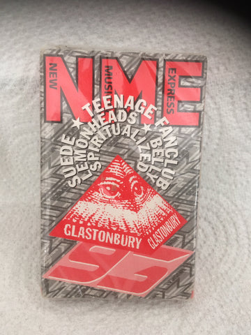 NME Glastonbury 1993 cassette (sealed/new)