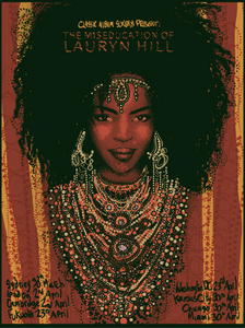 Limited Edition Lauryn Hill Screen Print