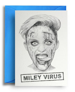 Miley Virus Card
