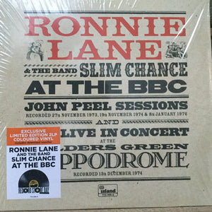Ronnie Lane & Slim Chance at the BBC Limited Edition Coloured Vinyl Double Album