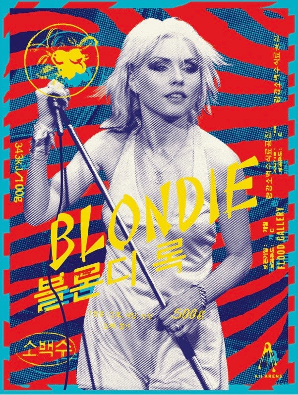 Blondie #162/180 KII ARENS (large 24 x36)