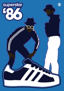 Run DMC (Superstar '86) JON DANIEL