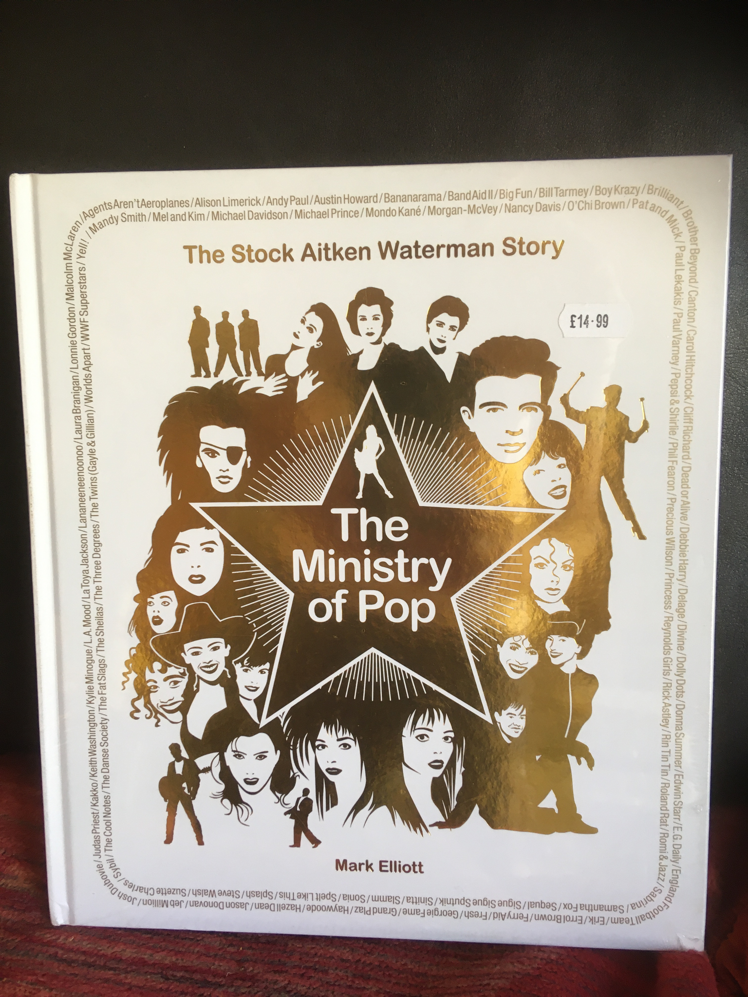 The Ministry of Pop Hardcover  by Mark Elliot