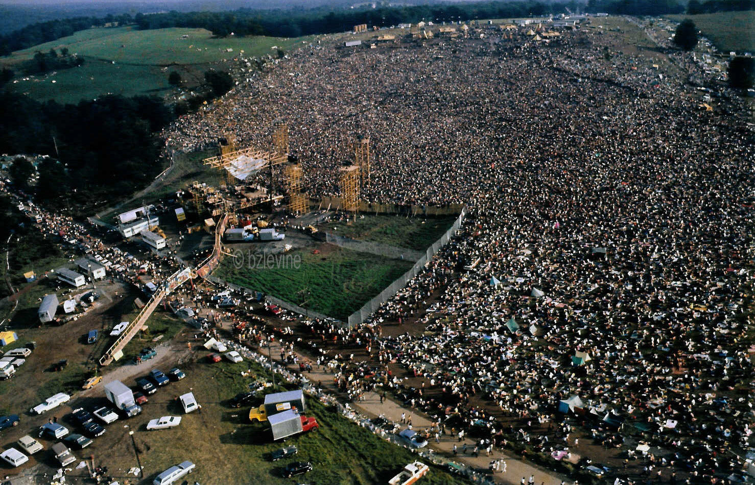 WOODSTOCK by Barry Z Levine