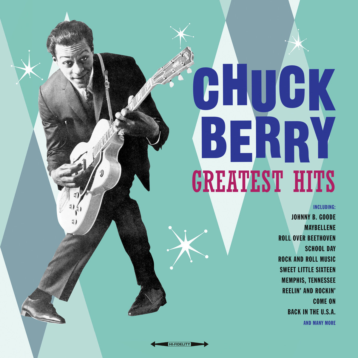 CHUCK BERRY -  GREATEST HITS [180G VINYL LP]