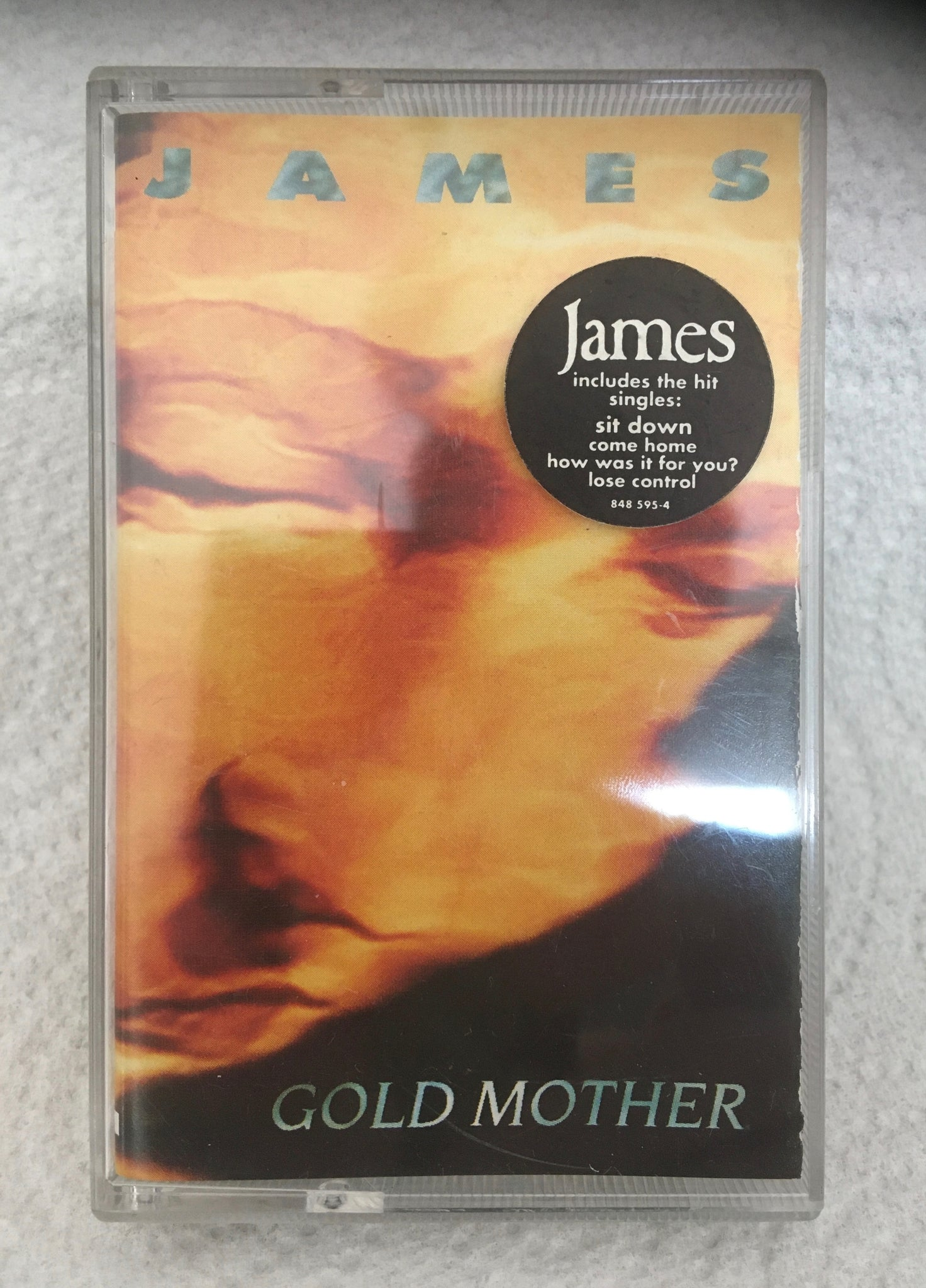 James - Gold Mother - cassette