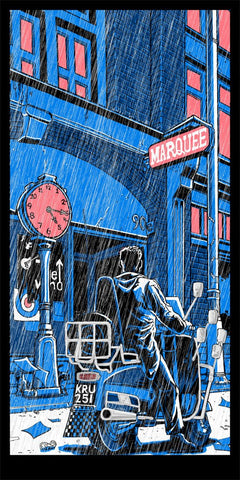 A print based on the memorable scene from The Who's Quadrophenia.