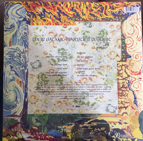 The Rolling Stones - Their Satanic Majesties Request 3d Cover RSD 2018 180 gm