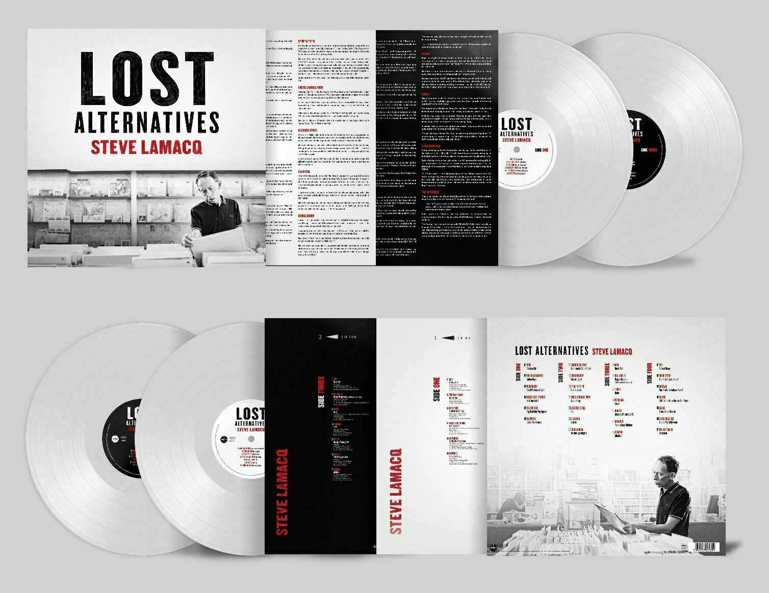 Steve Lamacq - Lost Alternatives RSD19 White Vinyl Limited Edition