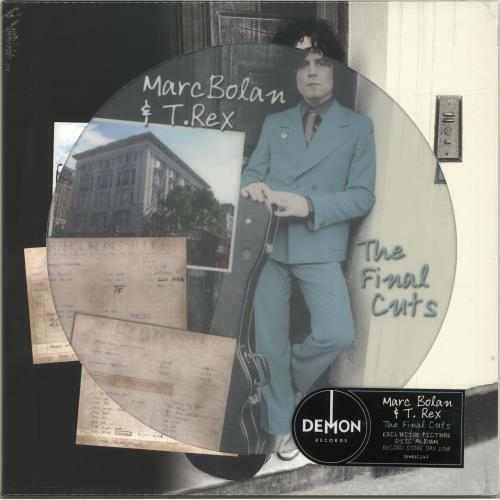 Marc Bolan & T. Rex ‎– The Final Cuts - Picture Disc