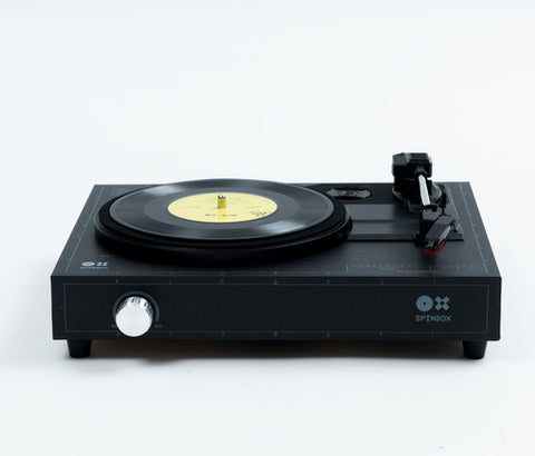 SPINBOX - A DIY turntable kit - Black