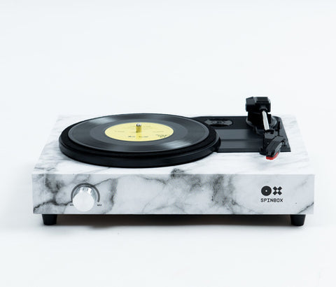 SPINBOX - A DIY turntable kit - Marble