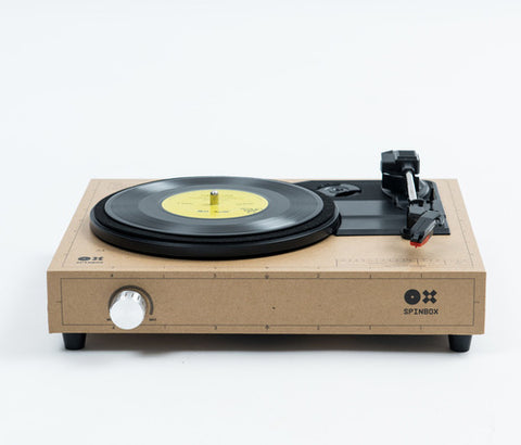 SPINBOX - A DIY turntable kit - Caramel