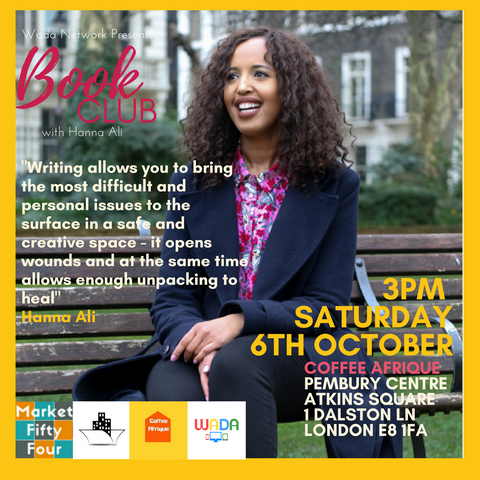 Book Club | October | Coffee Afrique | Dalston