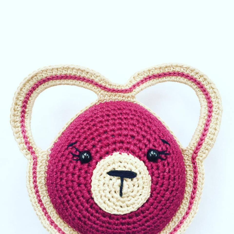 Bertram the Bear Rattle