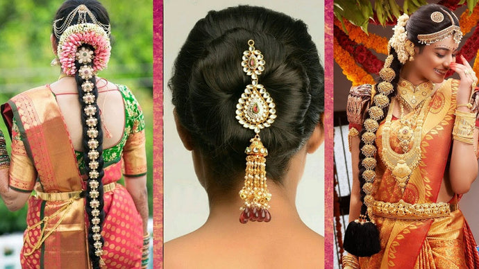 Top hairstyles for saree to look stunning