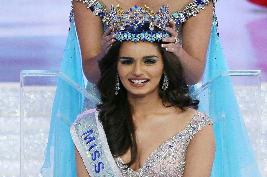 Indian beauty Manushi Chillar's Miss World Journey