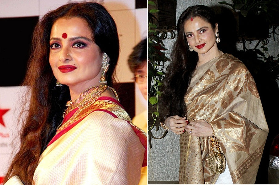 Rekha: Iconic Style Statement of the Versatile Actress