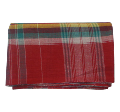 Multicolor Handloom Bangla Gamcha For Men  AJODI000543