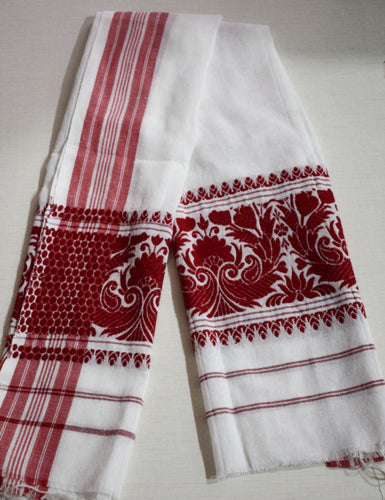Handloom Assam Gamosa or Gamocha or Towel Online Shopping in India AJODI000735