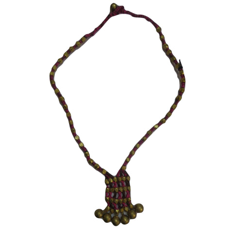Handmade Tribal Design Handicraft Necklace Jewellery of Odisha Dhenkanal  AJODI000922