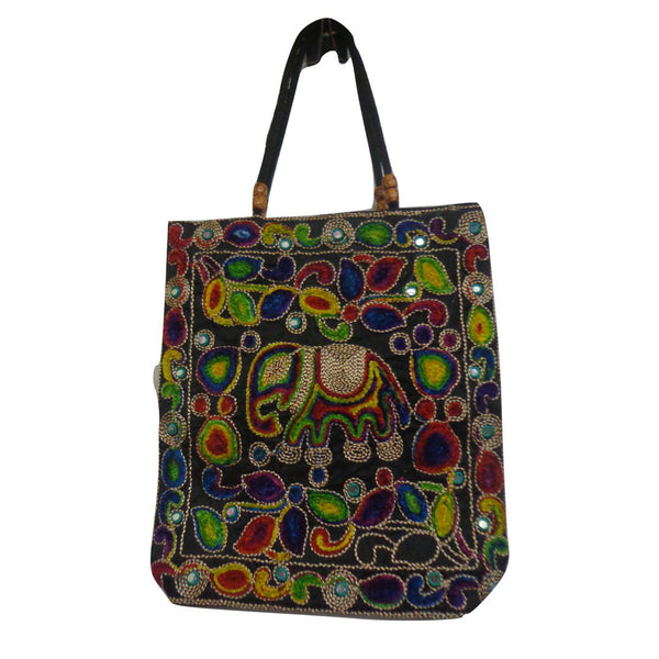 Handmade Pipili Applique Handicraft Embroidoried Design Handbag Made in Odisha Puri  AJODI000967