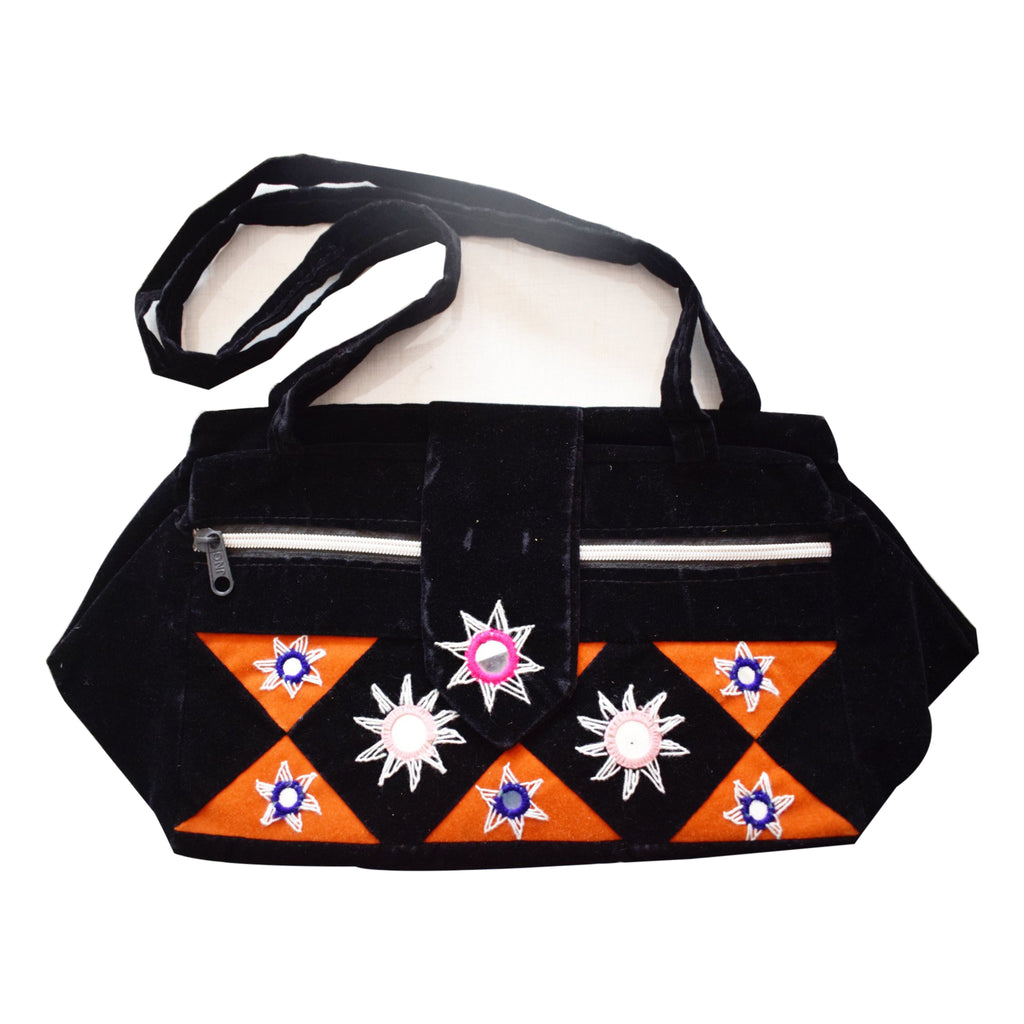 Handmade Pipili Applique Handicraft Small Handbag of Odisha Puri  AJODI000968