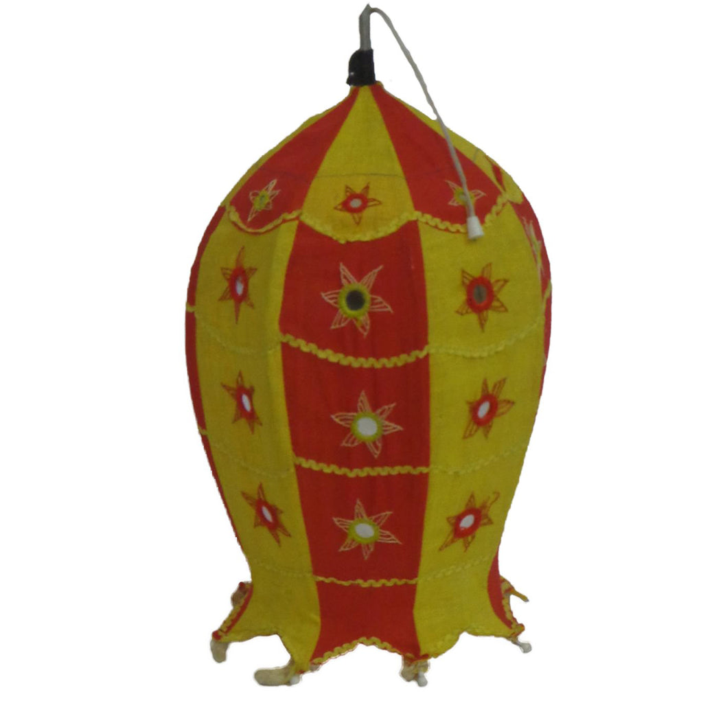 Handmade Pipili Design Handicraft Fish Lamp Shade Made In Odisha AJODI001014