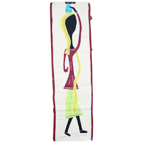 Handmade Wall Hanging Designs Handicraft Applique on Clothes Made in Odisha  AJODI001015