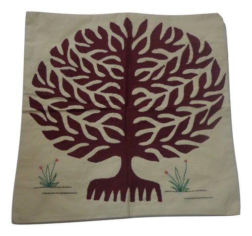 Handmade Pipili Patch Work Handicraft Cushion Cover Made in Odisha  AJODI001023