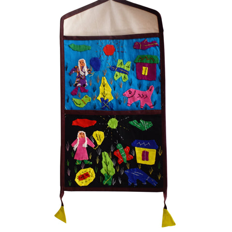 Handmade Wall Hanging Handicraft Letter Box Made in Odisha Puri  AJODI001025